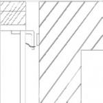 פיגום התלוי על תושבת ייעודית הקבועה בבטון בעזרת פין ומאובטח באמצעות שרשרת אבטחה.